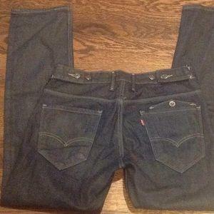 Men's Levi skinny jeans